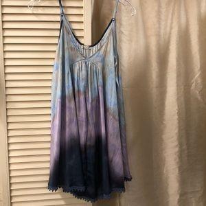 Free People Intimately purple & blue nightie.